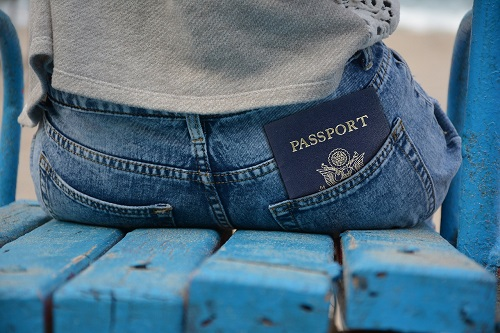 hiding travel documents