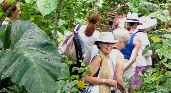 Canadian Woman Traveller in Bali 2012
