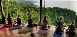view yoga deck
